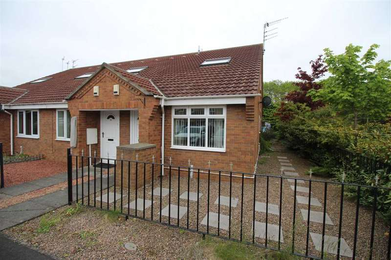 1 Bedroom Bungalow for sale in Drybeck Court, Eastfield Vale, Cramlington