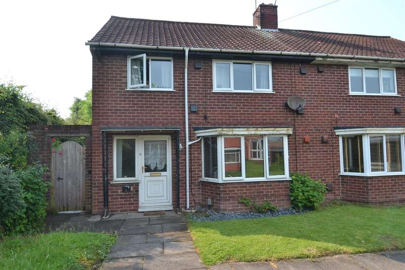 3 Bedrooms Semi Detached House for sale in Southfield Close, Stafford