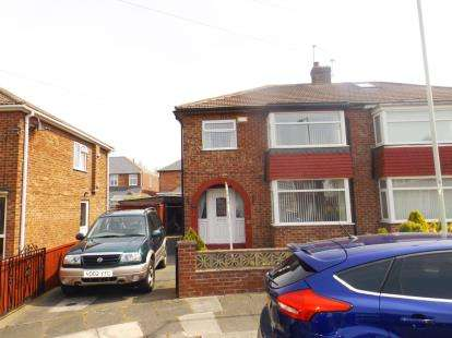 3 Bedrooms Semi Detached House for sale in Whitwell Road, Darlington, County Durham