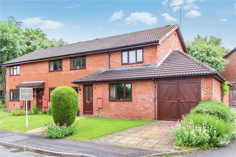 3 Bedrooms Semi Detached House for sale in Seward Rise, Halterworth, Romsey, Hampshire