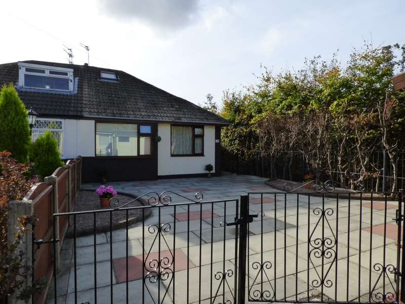 2 Bedrooms Bungalow for sale in Heathview Close, Widnes, Cheshire, WA8