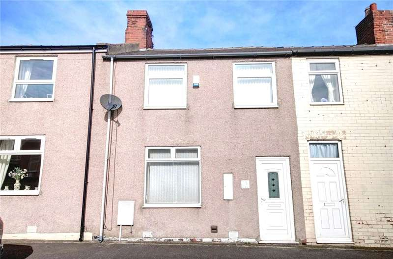 3 Bedrooms Terraced House for sale in South View, Sherburn Hill, Durham, DH6