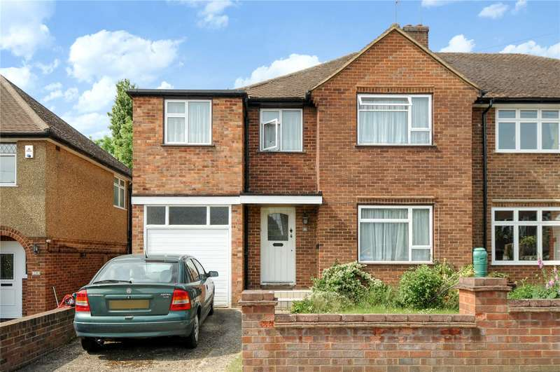 4 Bedrooms Semi Detached House for sale in Hillside, Harefield, Middlesex, UB9