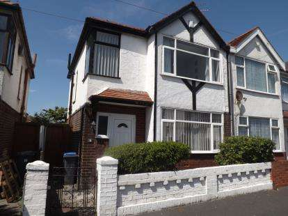 3 Bedrooms Semi Detached House for sale in Hollywood Avenue, Blackpool, Lancashire, ., FY3
