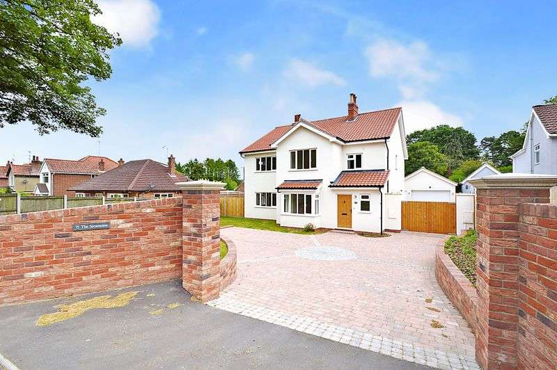 4 Bedrooms Detached House for sale in Longwater Lane, New Costessey