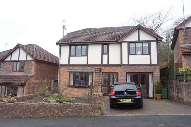 4 Bedrooms Detached House for sale in Plynlimon Close, Crumlin, NEWPORT, Caerphilly