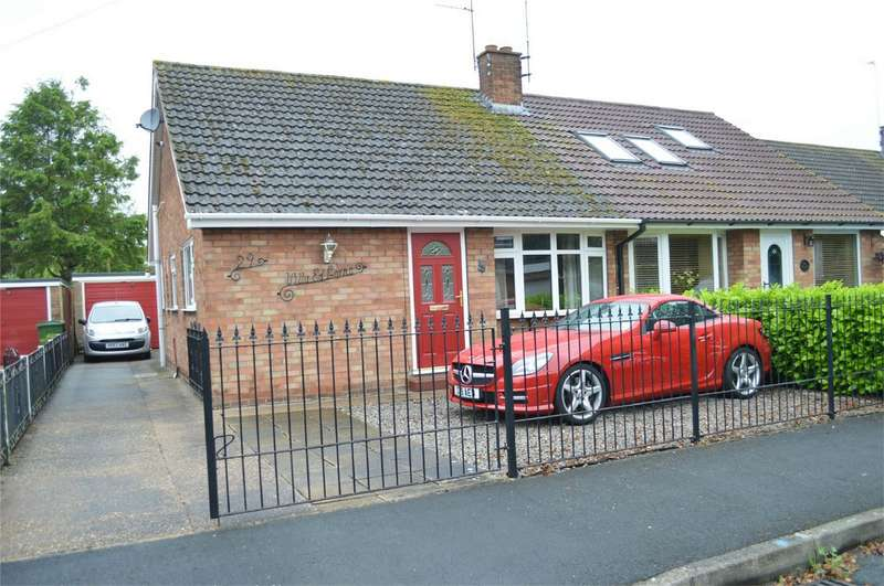 2 Bedrooms Semi Detached Bungalow for sale in 29 Windham Crescent, Wawne, East Riding of Yorkshire