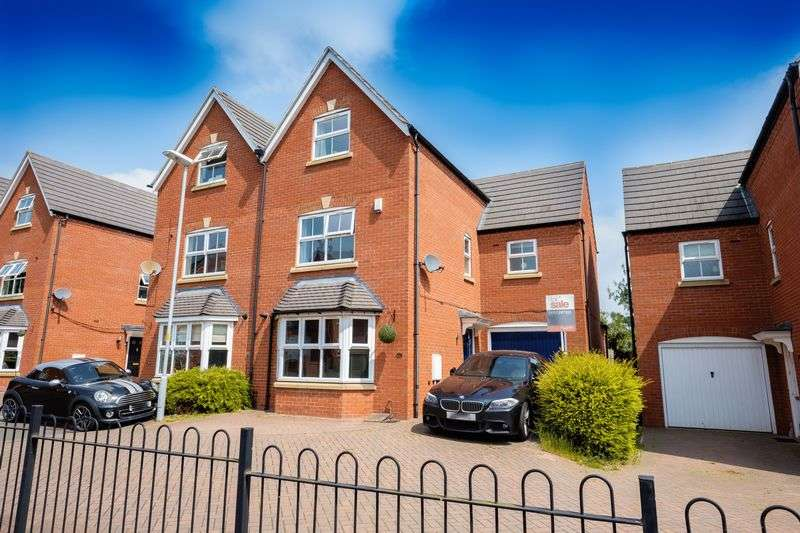 4 Bedrooms Semi Detached House for sale in Alameda Gardens, Tettenhall, Wolverhampton