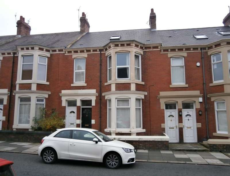 2 Bedrooms Flat for sale in Addycombe Terrace, Heaton , Newcastle Upon Tyne, NE6