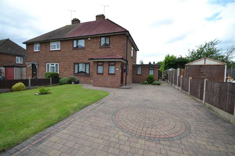 3 Bedrooms Semi Detached House for sale in Larchwood Gardens, Brentwood