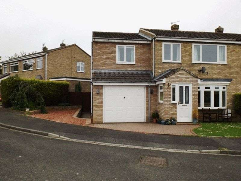 4 Bedrooms Semi Detached House for sale in Fawdon Grove, Pegswood - Four Bedroom Semi Detached House