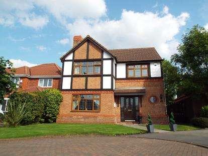 4 Bedrooms Detached House for sale in Torridon Close, Blackburn, Lancashire, BB2