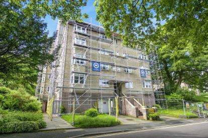 2 Bedrooms Flat for sale in Hardwick Gardens, Hardwick Mount, Buxton