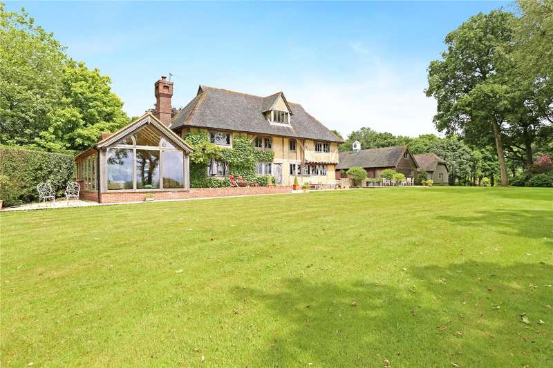 5 Bedrooms Detached House for sale in Iping, Midhurst, West Sussex, GU29