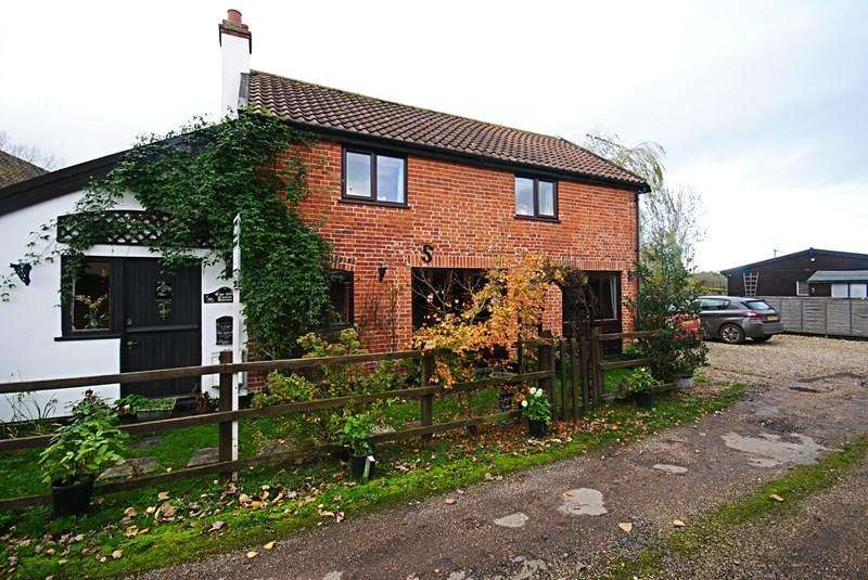 2 Bedrooms Cottage House for sale in Yaxley Road, Mellis, Eye