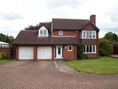 5 Bedrooms Detached House for sale in The Spinney, Mancetter, Atherstone, Warwickshire