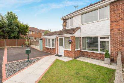 3 Bedrooms Semi Detached House for sale in Swallow Close, Kirkby, Liverpool, Merseyside, L33
