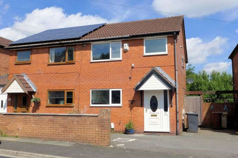 3 Bedrooms Semi Detached House for sale in Whalley Avenue, Johnson Fold, Bolton