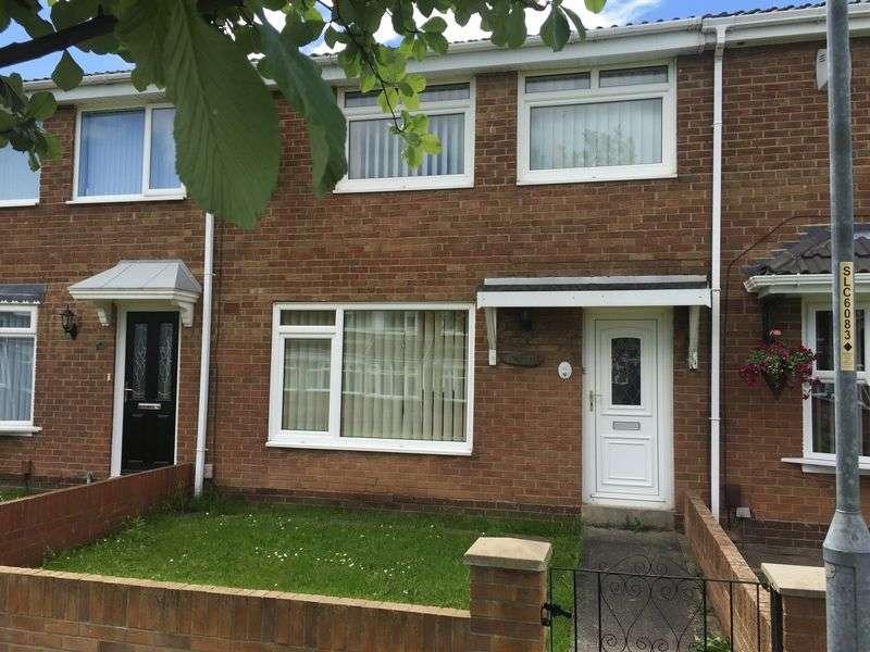 3 Bedrooms Terraced House for sale in Peterborough Way, Jarrow