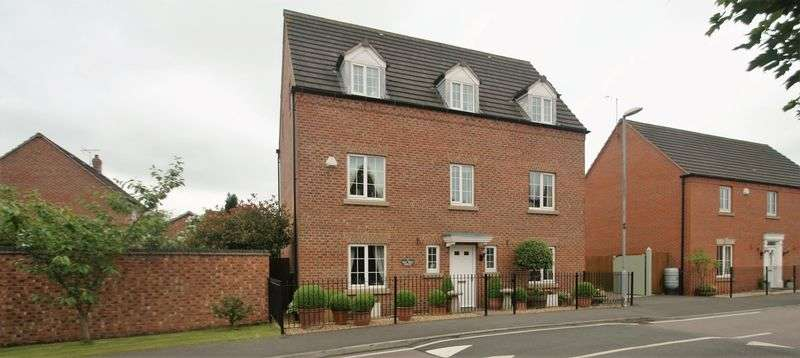 5 Bedrooms Detached House for sale in Murphy Drive, Bagworth