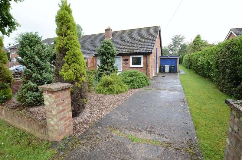2 Bedrooms Semi Detached Bungalow for sale in 27 King Edward Road, Woodhall Spa