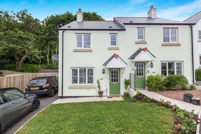 3 Bedrooms Semi Detached House for sale in Roseworthy Road, Shortlanesend