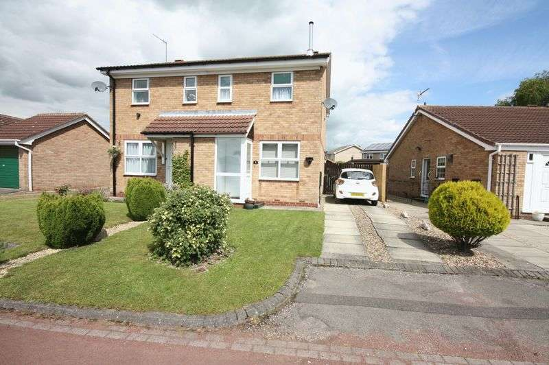 2 Bedrooms Semi Detached House for sale in **NEW PRICE** Clematis Close, Driffield