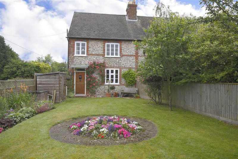 3 Bedrooms Semi Detached House for sale in Millers Cottage, Ragged Appleshaw, Andover