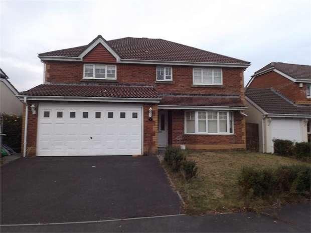 4 Bedrooms Detached House for sale in Dan Danino Way, Morriston, Swansea, West Glamorgan