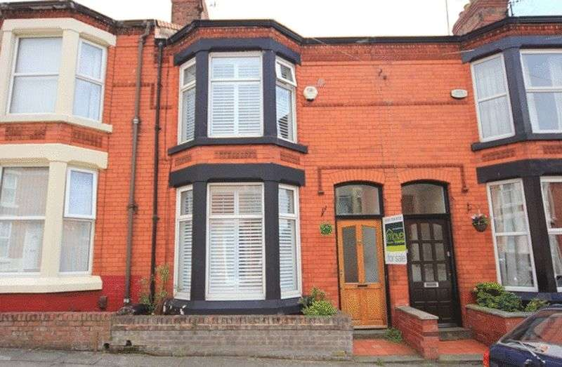 3 Bedrooms Terraced House for sale in Lucan Road, Aigburth, Liverpool, L17
