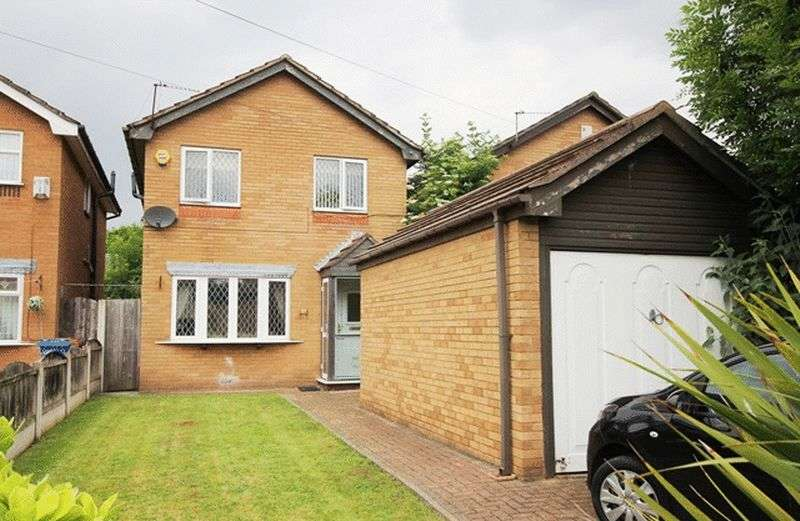 3 Bedrooms Detached House for sale in Hollies Road, Halewood, Liverpool, L26