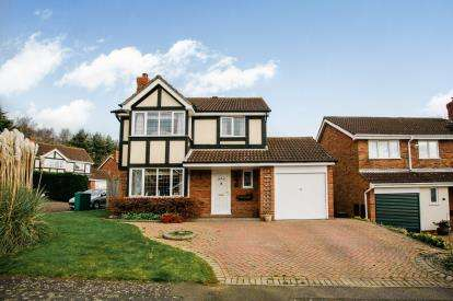 4 Bedrooms Detached House for sale in Icknield Drive, West Hunsbury, Northampton, England