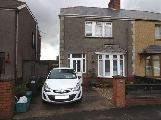 3 Bedrooms Semi Detached House for sale in Margam Road, Margam, Port Talbot, West Glamorgan