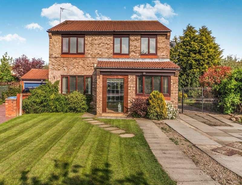 4 Bedrooms Detached House for sale in Brafferton Close, Newton Aycliffe, DL5
