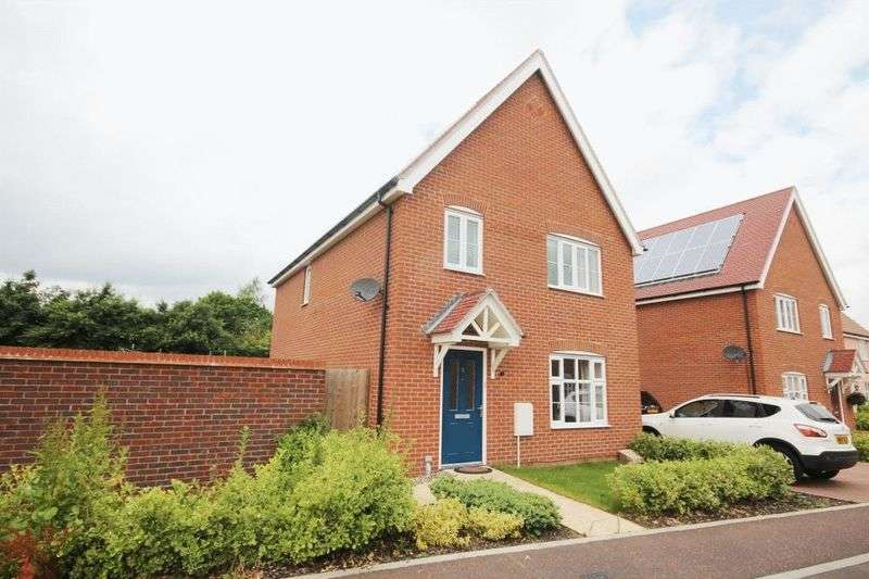 4 Bedrooms Detached House for sale in Ernest Drive, Norwich