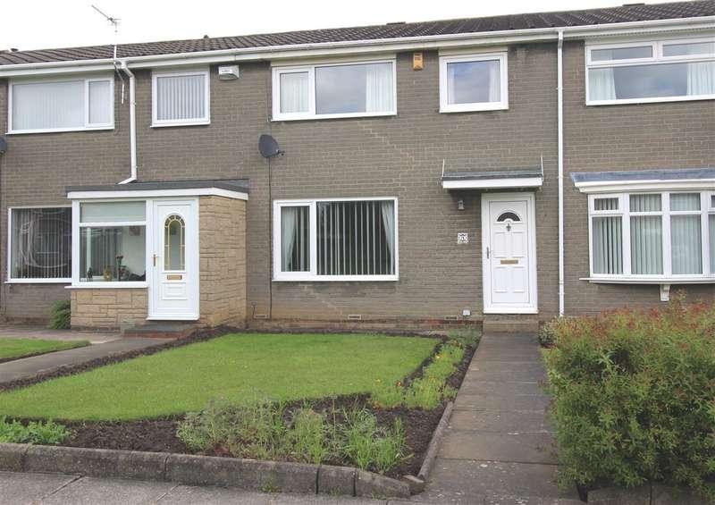 3 Bedrooms Terraced House for sale in Glenluce Drive, Southfield Green, Cramlington
