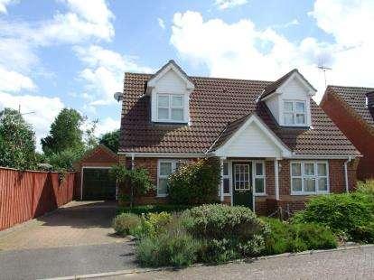 3 Bedrooms Detached House for sale in Lakenheath, Brandon, Suffolk