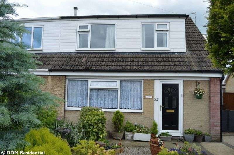 3 Bedrooms Semi Detached Bungalow for sale in Westminster Road, Broughton