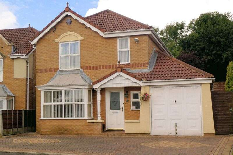 4 Bedrooms Detached House for sale in Embsay Close, Belmont Park, Sharples, Bolton