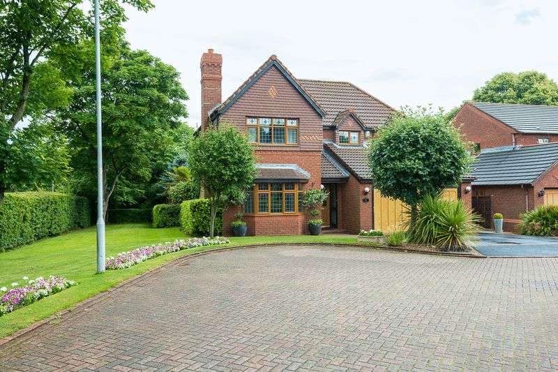 4 Bedrooms Detached House for sale in Chilton Close, Maghull