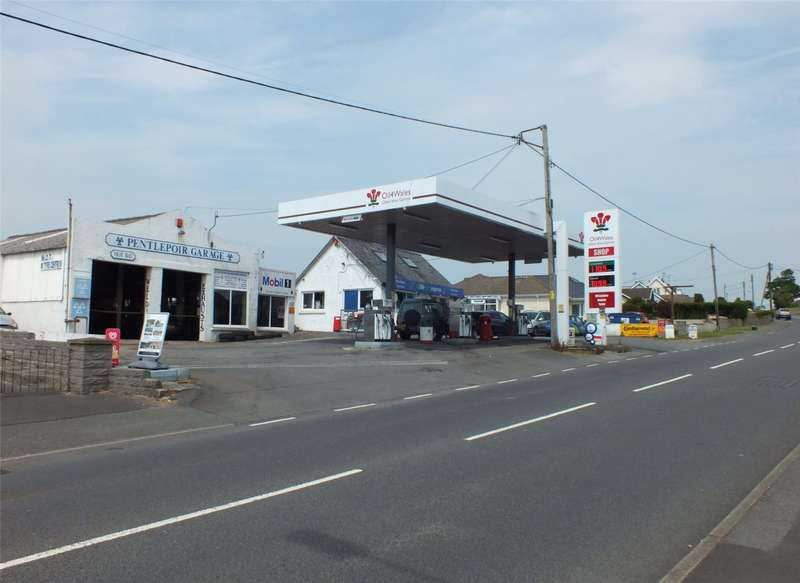 Commercial Property for sale in Pentlepoir Garage, Pentlepoir, Saundesfoot, Pembrokeshire