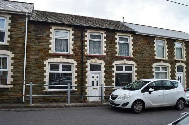 3 Bedrooms Terraced House for sale in Prospect Place, Ogmore Vale, Bridgend, Mid Glamorgan