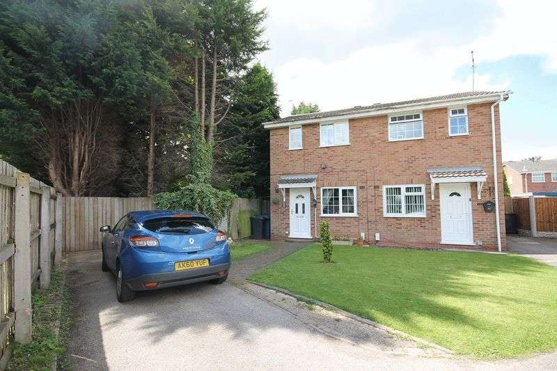 2 Bedrooms Semi Detached House for sale in Ibsley Close, Alvaston, Derby