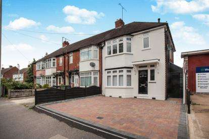 3 Bedrooms End Of Terrace House for sale in Trinity Road, Leagrave, Bedfordshire