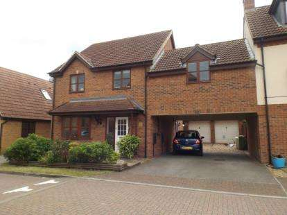 4 Bedrooms Link Detached House for sale in Berrington Grove, Westcroft, Milton Keynes, Buckinghamshire