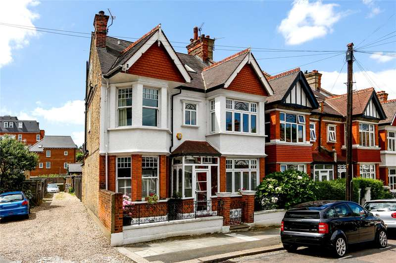 4 Bedrooms Semi Detached House for sale in Farquhar Road, London, SW19
