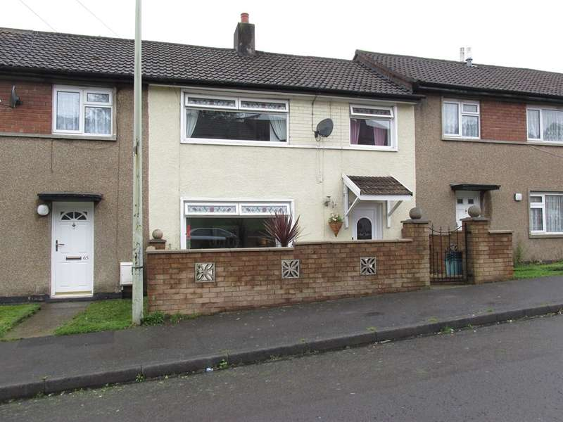 3 Bedrooms Terraced House for sale in Ash Crescent, Gurnos Estate, Merthyr Tydfil