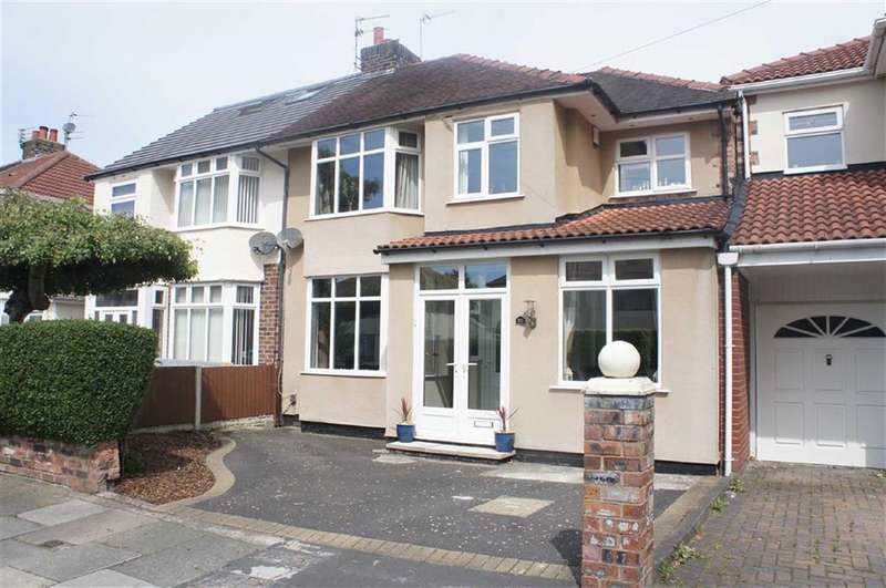 4 Bedrooms Property for sale in Rosslyn Avenue, Maghull, Merseyside