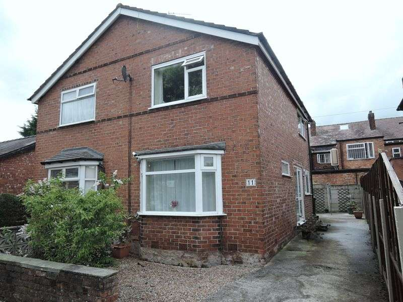 2 Bedrooms Semi Detached House for sale in Crossfield Road, Handforth