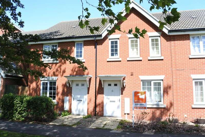 3 Bedrooms Terraced House for sale in Wilks Road, Grantham